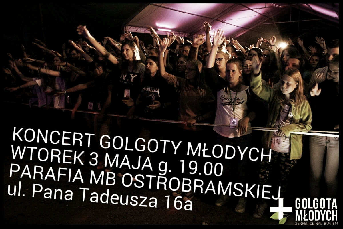 plakat koncertu 1